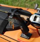 RAM Mounts® RAM-ROD® 2007 Fishing Rod Holder with Rectangle Flat Surface Base