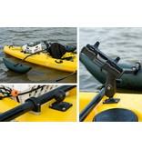 RAM Mounts® RAM-ROD® 2007 Fly Rod Jr. Fishing Rod Holder with Flat Surface Rectangle Base