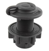 RAM Mounts® RAM-ROD® Round Flush Base for Spline Posts