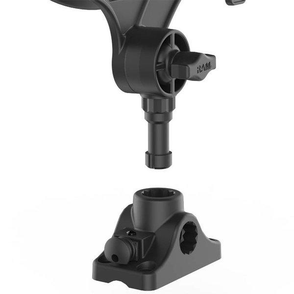 RAM-ROD® JR Fishing Rod Holder with Combination Bulkhead/Flat Surface Mounting Base
