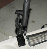 RAM Mounts® RAM-TUBE™ 2000 Holder with RAM-ROD® Revolution Ratchet/Socket System and Round Flat Surface Base
