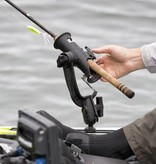 RAM Mounts® RAM Tube Jr.™ Fishing Rod Holder with RAM-ROD® Revolution Ratchet/Socket System (Base NOT Included)