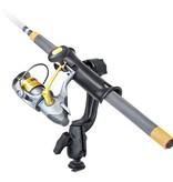 RAM Mounts® RAM Tube Jr.™ Fishing Rod Holder with RAM-ROD® Revolution Ratchet/Socket System and Track Ball™ Base