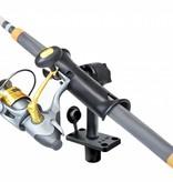 """RAM Mounts® RAM Tube Jr.™ Fishing Rod Holder with Medium 6"""" Length Spline Post & Flush Mounting Base"""