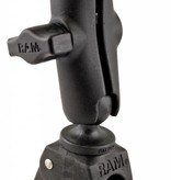 """RAM Mounts® Small Tough-Claw™ Base with 1"""" Ball, including M6 X 30 SS HEX Head Bolt, for Raymarine Dragonfly-4/5 & WiFish Devices"""