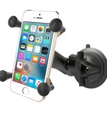 RAM Mounts® Twist-Lock™ Suction Cup Mount with Universal X-Grip® Cell/iPhone Cradle