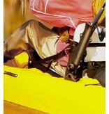 "RAM Mounts® Tough-Tube™ Fishing Rod Holder with 3"" Length Spline Post, Combination Bulkhead/Flat Surface Base & Plunger"