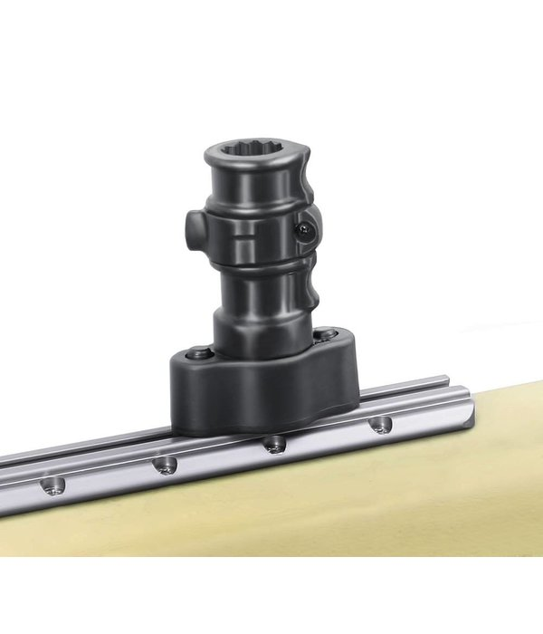 RAM Mounts® Adapt-A-Post™ Quick Release Track Base