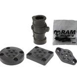 RAM Mounts® Adapt-A-Post™Adapt-A-Post™ Base with Three Drill-Down Base Options Base with Three Drill-Down Base Options