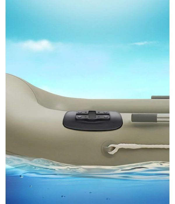 RAM Mounts® Black Bond-A-Base™ For Inflatable Rafts