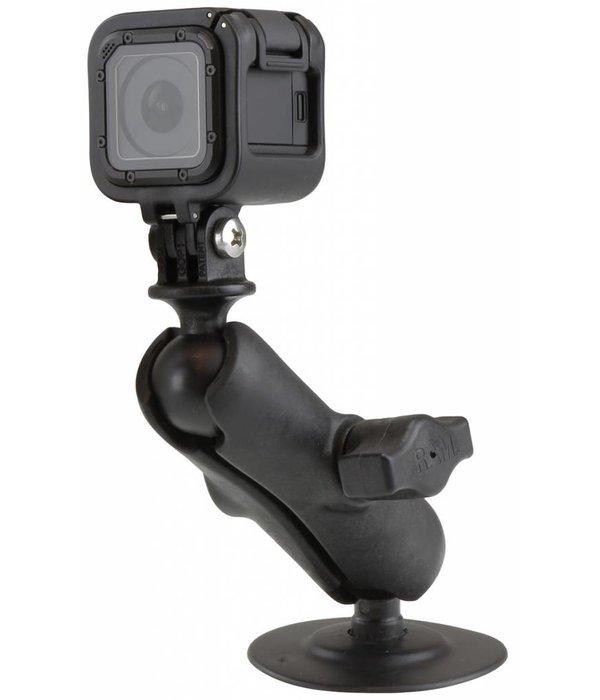 RAM Mounts® Flex Adhesive Mount with Custom GoPro® Hero Adapter