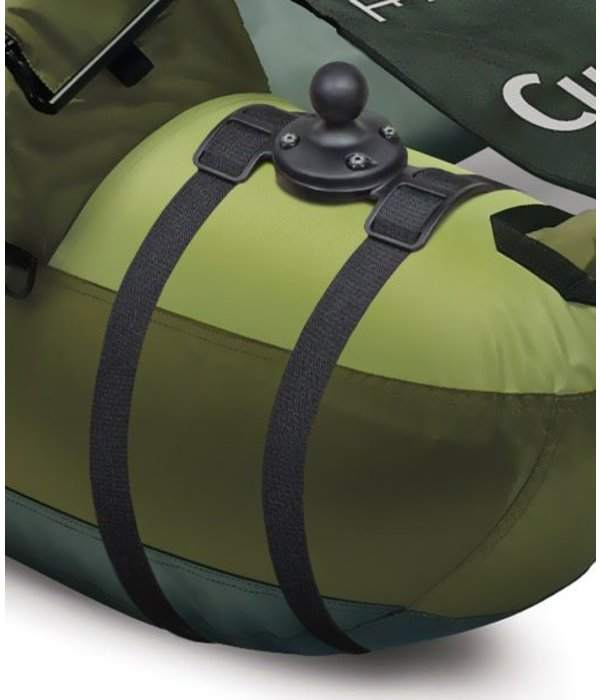 """RAM Mounts® Float Tube Adapter with Strap & 1"""" Diameter Ball"""