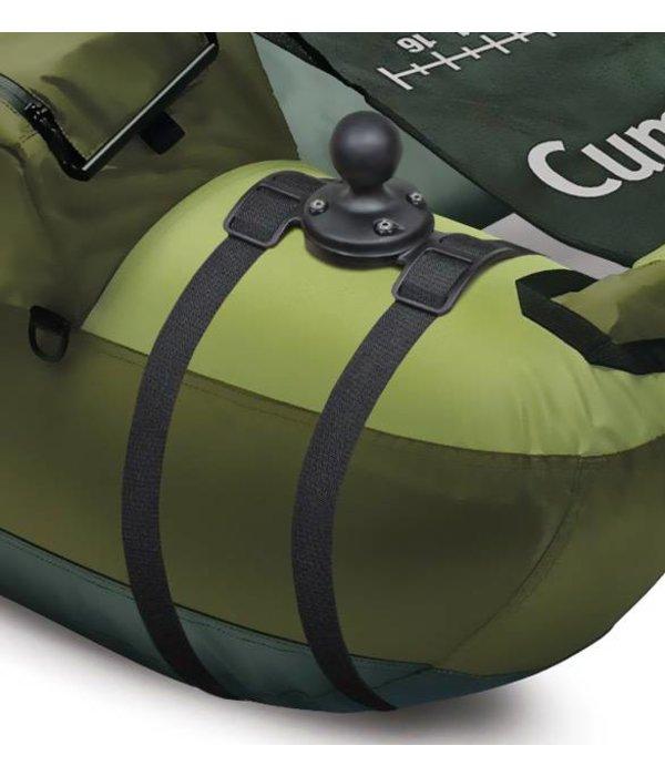 RAM Mounts® Unpacked Float Tube Adapter W 1.5'' Base