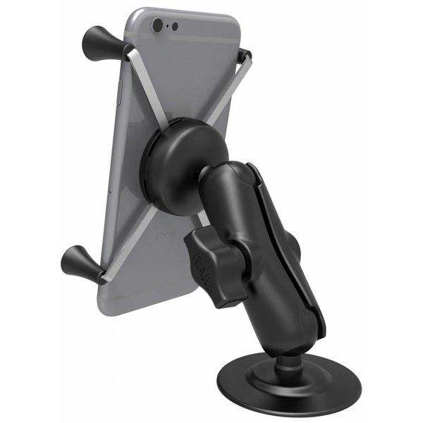 Flex Adhesive Mount with Universal X-Grip® Phone/Phablet Cradle