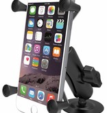 RAM Mounts® Flex Adhesive Mount with Universal X-Grip® Phone/Phablet Cradle