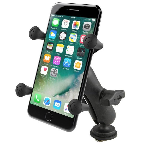 X-Grip® Phone Mount with Track Ball™ Base