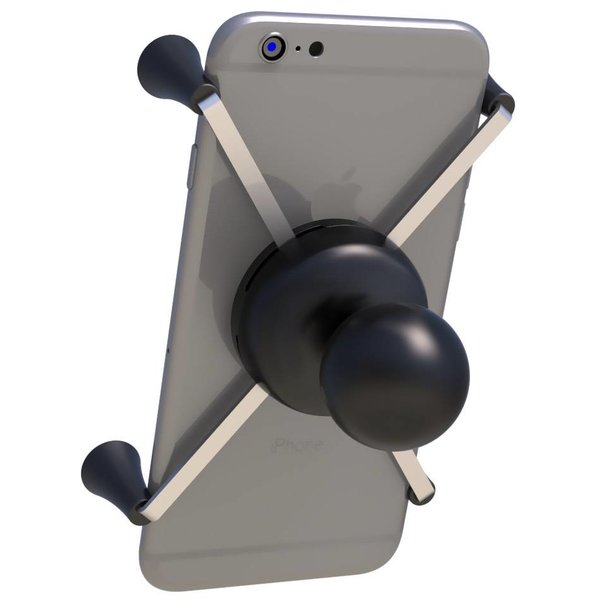 """Universal X-Grip® Large Phone/Phablet Cradle with 1.5"""" Ball"""