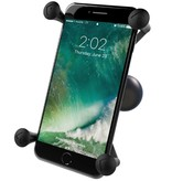 """RAM Mounts® Universal X-Grip® Large Phone/Phablet Cradle with 1.5"""" Ball"""