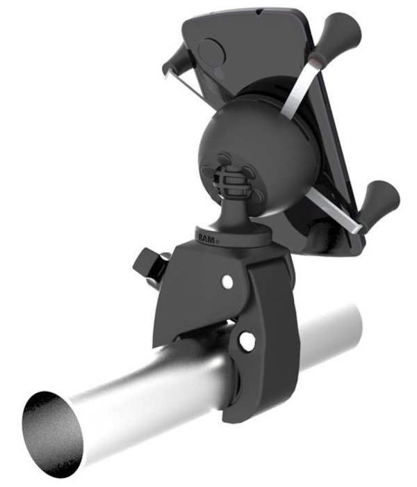 RAM Mounts® Tough-Claw™ Mount with Universal X-Grip® Phone Cradle