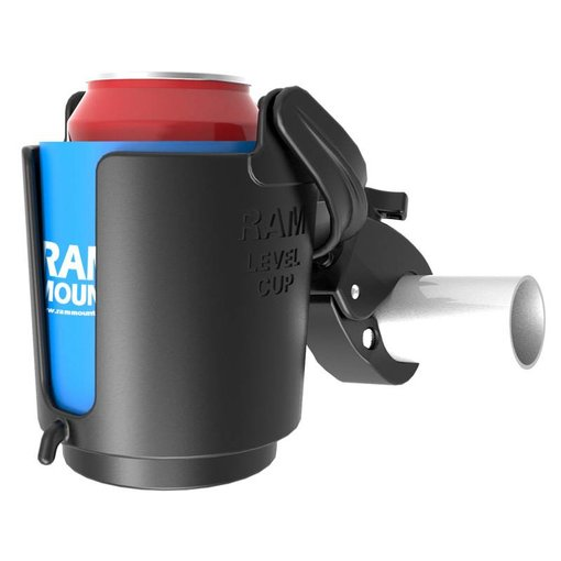 RAM Mounts® Tough-Claw™ Mount with Level Cup™ Drink Holder