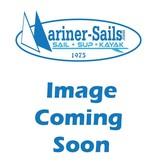 Watermocassin 3mm Neoprene Sock Black/Orange LG