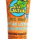 Aloe Gator Sunscreen SPF 40 Lil Gator (4oz)