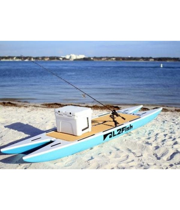 Live Watersports Sup L2Fish 12Ft 6In Seaglass