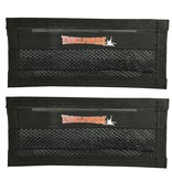 "Tackle Webs, Inc. 14"" Wide by 6"" High Specialy Formulated Adhesive Hook & Loop (2 Pack)"