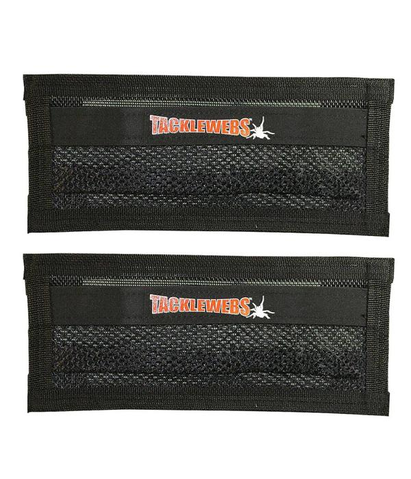 """Tackle Webs, Inc. 14"""" Wide by 6"""" High Specialy Formulated Adhesive Hook & Loop (2 Pack)"""