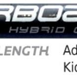 Starboard 2017 Enduro 2 Tiki Tech 3-Piece Hybrid Carbon Paddle Medium Blue