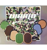 Diablo Paddlesports 6MM Deck Traction Kit (Chupacabra w/Logo & Ruler, Military Camo/Black)