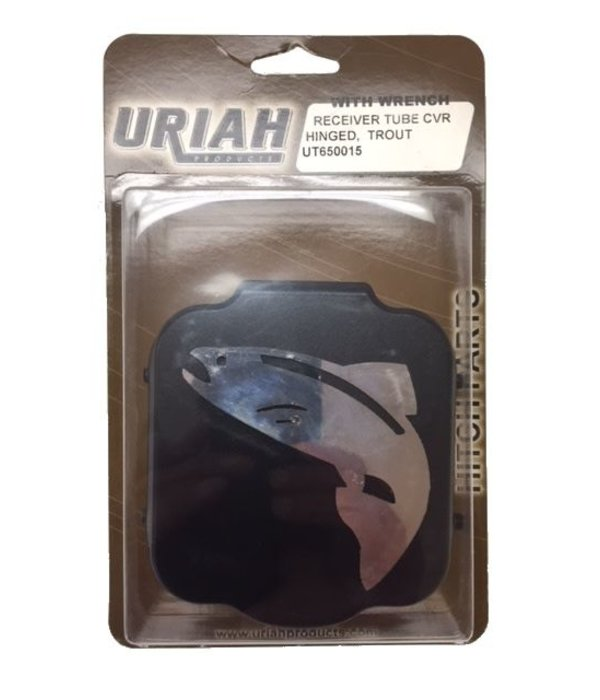 Uriah Products Hinged Receiver Tube Cover - Trout