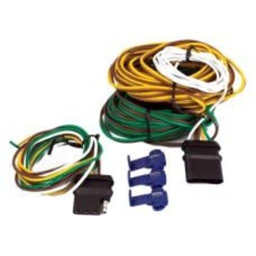 Uriah Products Wiring Kit - 20' - 4-Pole Flat