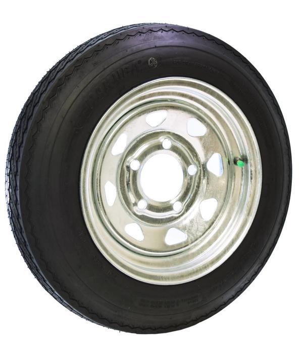 Malone 12'' Galvanized Spare Tire With Locking Attachment