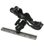 Yak-Attack RAM Mounts® RAM-ROD Rod holder with composite connector and 1.5'' Screwball. Light / Med duty.