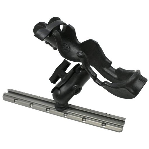 Yak-Attack (Discontinued) RAM Mounts® RAM-ROD Rod holder with composite connector and 1.5'' Screwball. Light / Med duty.