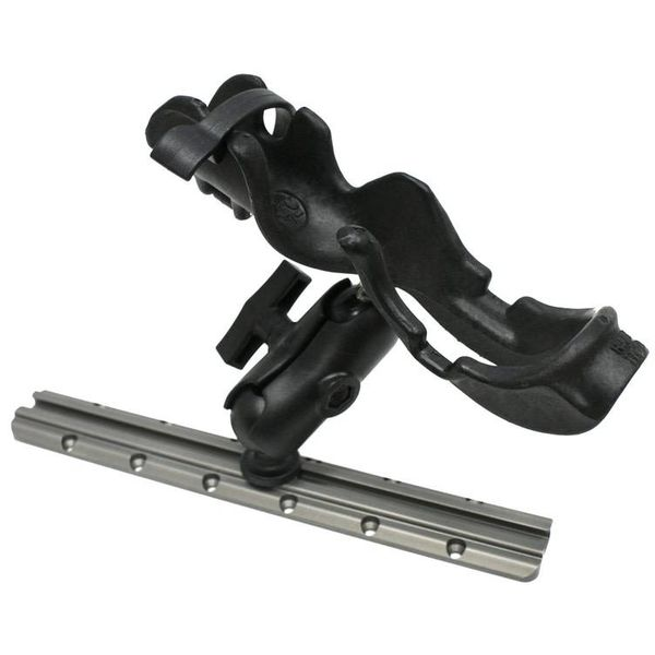 (Discontinued) RAM Mounts® RAM-ROD Rod holder with composite connector and 1.5'' Screwball. Light / Med duty.