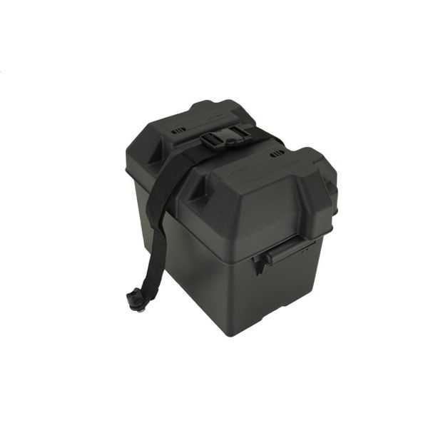 Battery Box With Track Strap