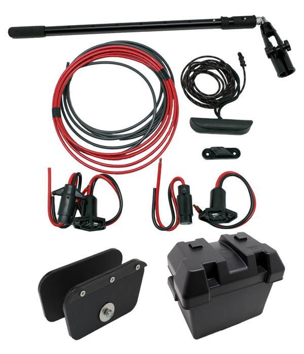 NuCanoe Plug & Play Motor Kit Transom Mount