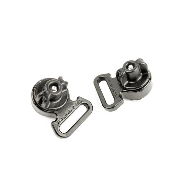 Horizontial Tie Downs, Track Mount, Pair