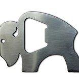Bison Outdoors Bottle Opener w/ Bison Logo