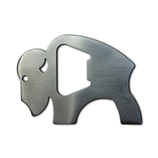 Bison Outdoors Bottle Opener With Bison Logo