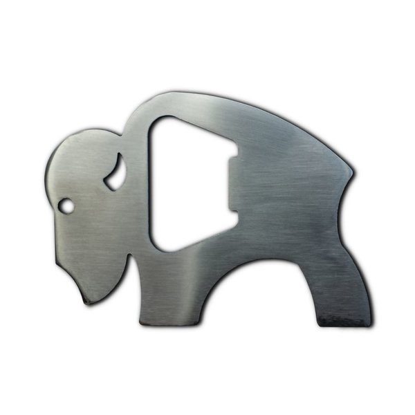 Bottle Opener With Bison Logo