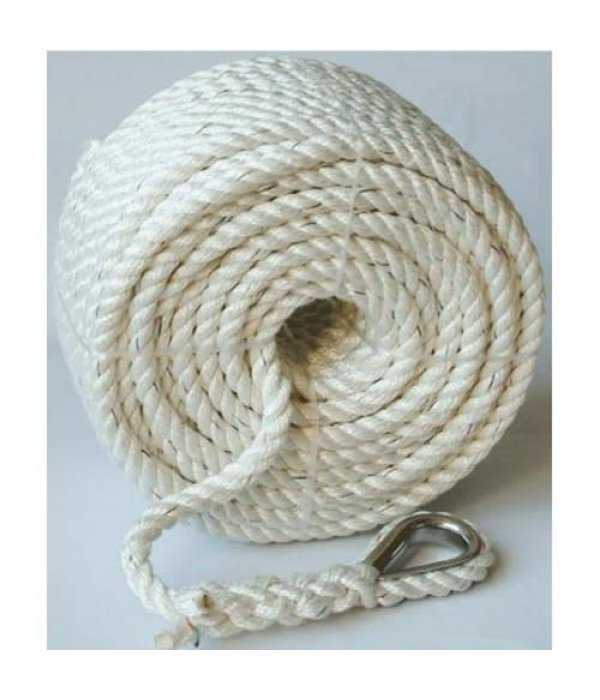 "Buccaneer Rope Nylon Anchor Line 1/2"" 200ft"
