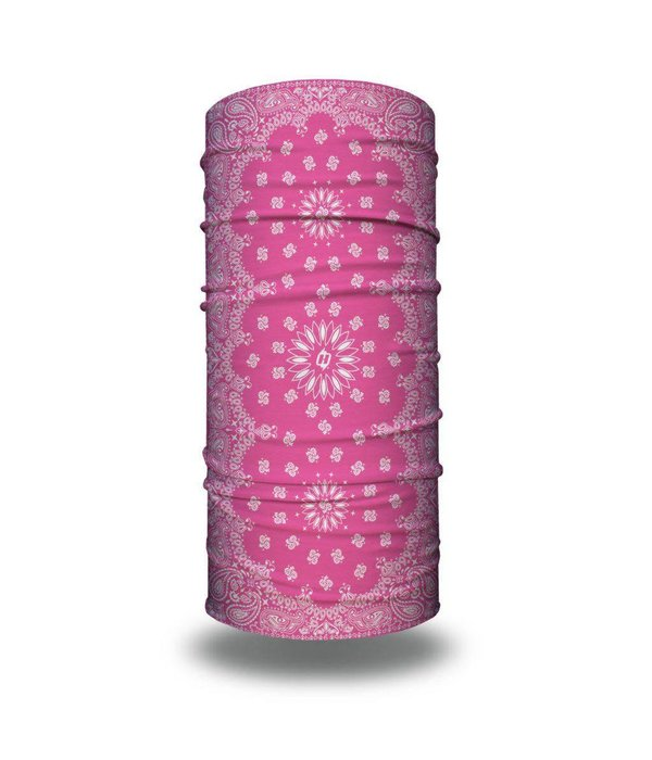 Hoo Rag Paisley Pink Hoo-Rag