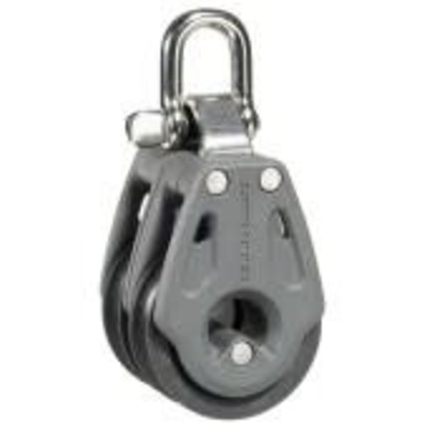 Block 30mm Double Swivel