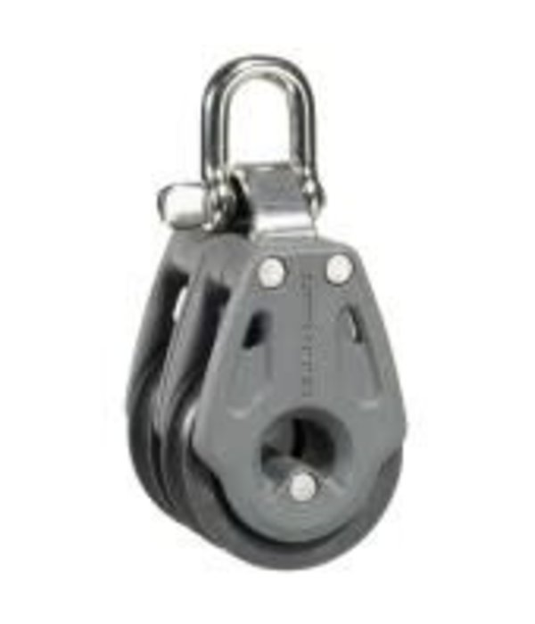 Lewmar Block 30mm Double Swivel