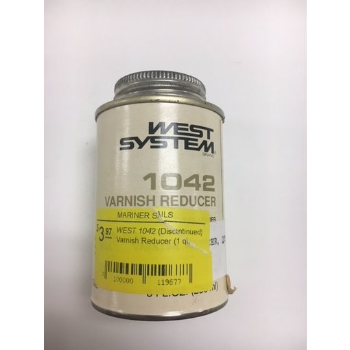 West Systems (Discontinued) Varnish Reducer (1 qt)