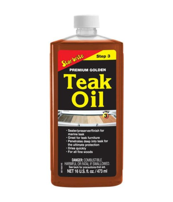Blackburn Marine Teak Oil (16oz)
