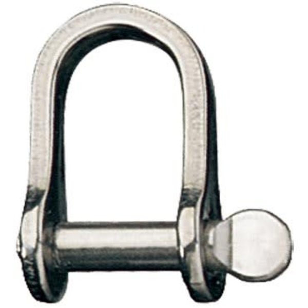 "Shackle D 1/4"" Pin"